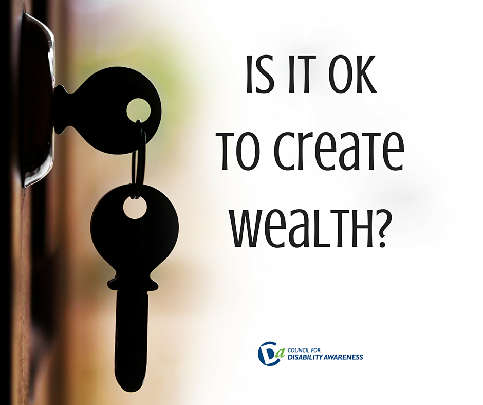 Is It OK to Create Wealth?