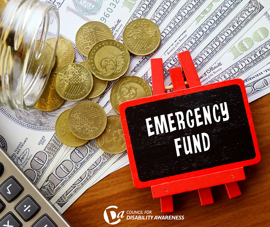 Building an Emergency Fund with an Eye To Disability Insurance
