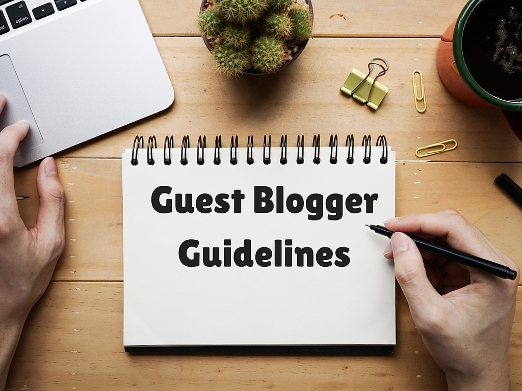 Be a Guest Blogger