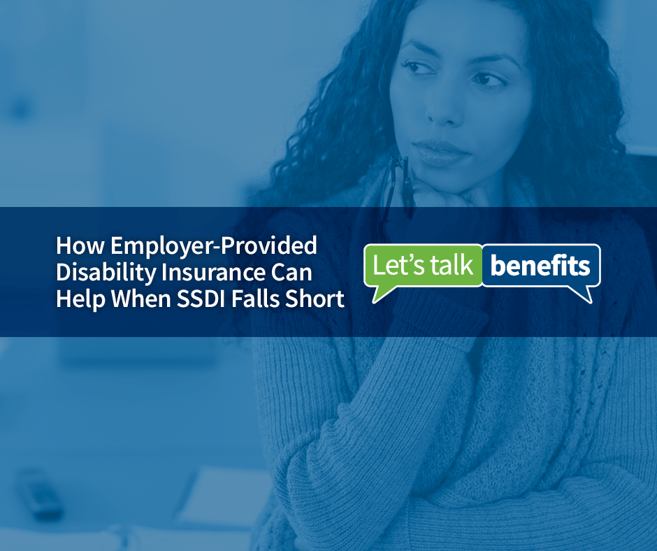 Important details about employer paid insurance to help fill the gap when social security income is delayed or falls short